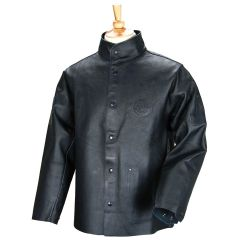 Revco Black Stallion DuraLite Premium Leather Black Welding Jacket (30PWC-BLK)
