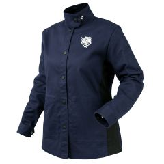 Revco Black Stallion AngelFire Women's 9oz Navy & Black FR Welding Jacket (JF1015-NB)