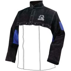 Revco Black Stallion Color Block Leather Cape Sleeves (JL1021-BB)